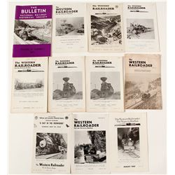 Ten Volumes of The Western Railroader Plus One Extra  #55663