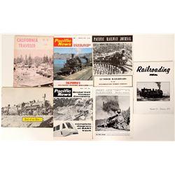 Logging Train Publications / Pacific Northwest / 7 Items.  #109707