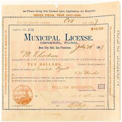 Steamship Agent License  #58654