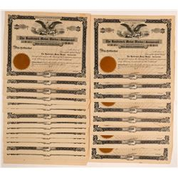 Hasbrouck Motor Works, Inc. Stock Certificate Collection  #103471