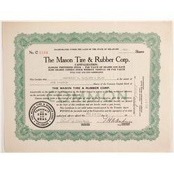 Mason Tire & Rubber Corp  #88479