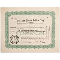 Mason Tire & Rubber Corp  #88479