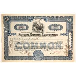 National Radiator Corp.  #89654