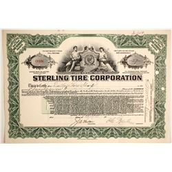 Sterling Tire Corp  #89718