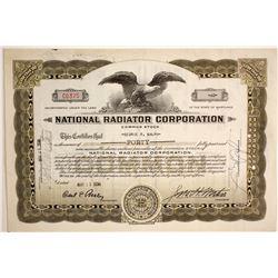 National Radiator Corp.  #89655