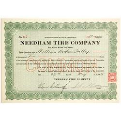 Needham Tire Company  #89662