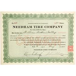 Needham Tire Company  #89662