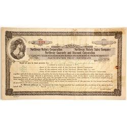 Northway Motors Corp - Participation Trust Certificate  #89609