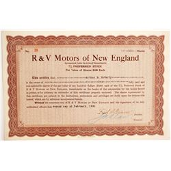 R & V Motors of New England  #89762