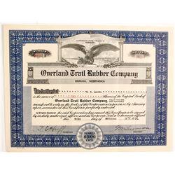 Overland Trail Rubber Company  #89739