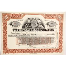 Sterling Tire Corp  #89721