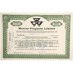 Massey-Ferguson Ltd  #83875