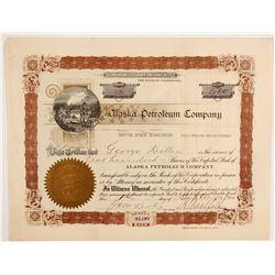 Alaska Petroleum Company Stock  #88067