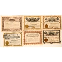 Six Different Mohave, Arizona Mining Stocks  #105954