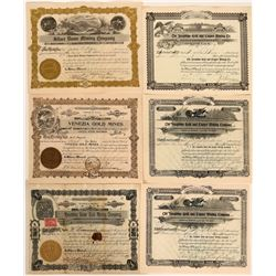 Precott, Yavapai, Arizona Mining Stock Certificate Collection  #105965