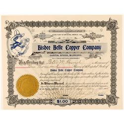 Bisbee Belle Copper Company  #91696