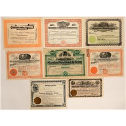 Yavapai County Mining Stock Certificate Collection  #105964