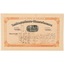 Hyland Mining & Milling Company Stock Certificate   #91745