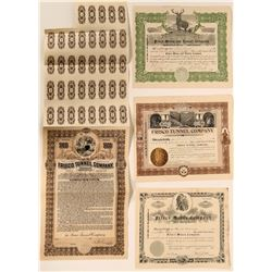 Four 'Frisco' Las Animas, San Juan County Certificates  #109053