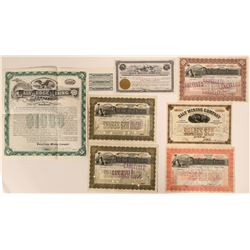 Seven Daly Mining Company Certs - Park City, Summit County  #109056
