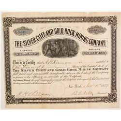 Silver Cliff and Gold Rock Mining Company  #87947