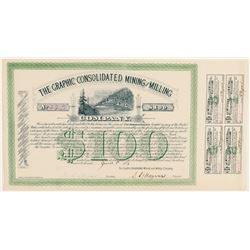 Graphic Consolidated Mining & Milling Co. Bond  #91824