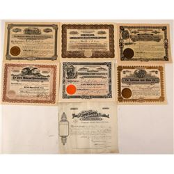 Summit County, Colorado Mining Stock Certificates  #107695