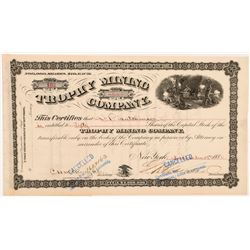 Trophy Mining Company Stock Certificate  #104272