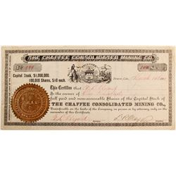 Chaffee Consolidated Mining Company Stock  #85226