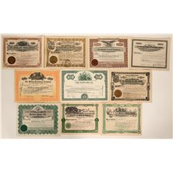 Colorado Mining Certificate Group - Includes a NUMBER 1  #109045