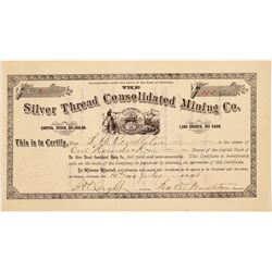 Silver Thread Consolidated Mining Co. Stock Certificate  #104320