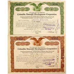 Colombia Emerald Development Corp  #91045