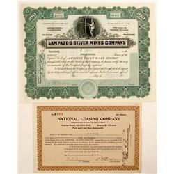 Lampazos Silver Mines Company  #91033