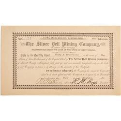 Silver Bell Mining Company of Garrett County Stock  #81976