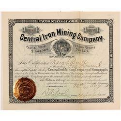 Central Iron MC Stock  #108091