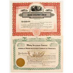 Minnesota Mining Stocks (2)  #82115