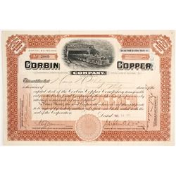 Corbin Copper Co. Stock  #82132