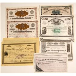 Montana Mining Stocks  #80127