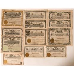 Gold Circle (Midas) District Stock Collection from Nevada  #110231