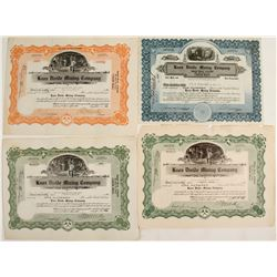 Knox Divide Mining Co. Stock Certificates  #57821