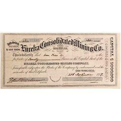 Eureka Consolidated Mining Co.  #84605