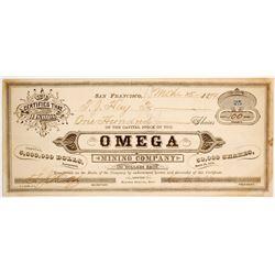 Omega Mining Company  #80439