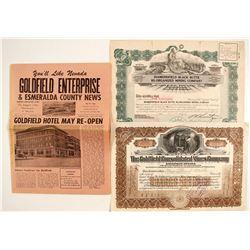 2 Goldfield's Mining stock   #86560