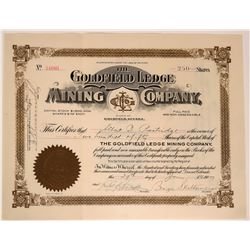 Goldfield Ledge Mining Company Stock Certificate  #110048