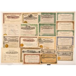 Goldfield, Nevada Mining Stock Certificate Collection  #107084