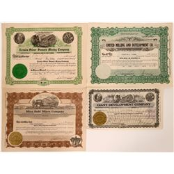 Four Mina, Nevada Mining Stocks  #110229