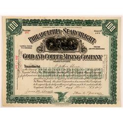 Philadelphia Searchlight Gold and Copper MC  #108111