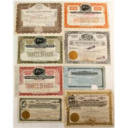 Tonopah mining Stocks (5 count)  #57825