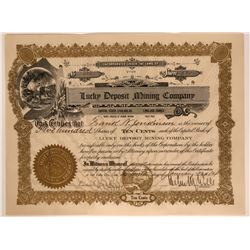 Lucky Deposit Mining Co. Stock, Aurum, Nevada  #110220