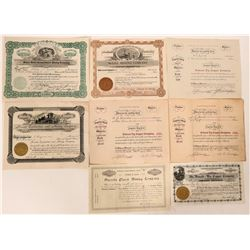 White Pine County Stock Certificate Group  #110210